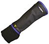 HexArmor Black Reusable SuperFabric Needle Resistant Arm Protector 8in L