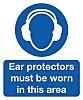 RS PRO PP Rigid Plastic Sign Wear Ear
