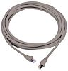 Molex Premise Networks STP Cat6a Cable Assembly 2m, Grey, Male RJ45/Male RJ45