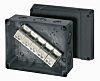 Abzweigdose, Thermoplastik, schwarz, L.=160mm, B.=200mm, H.=98mm, Serie DK, IP IP66/67