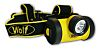 Linterna frontal frontal LED, Wolf Safety HT-650 Negro, 130 lm, 2.5 m de alcance, ATEX, IECEx