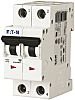 Eaton xEffect 32A MCB Mini Circuit Breaker2P Curve C, Breaking Capacity 6 kA