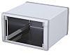 METCASE Unimet-Plus Grey Aluminium Project Box, 351.62 x