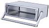 METCASE Unimet-Plus Grey Aluminium Instrument Case, 351.62 x 263.3 x 120.7mm
