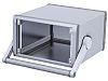 Aluminium Project Box, Grey, 251.62 x 263.3 x