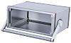 METCASE Unimet-Plus Grey Aluminium Instrument Case, 351.62 x 263.29 x 150.7mm