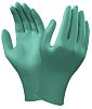 Ansell Green Nitrile Disposable Gloves size 8.5 -