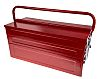 RS PRO Metal Tool Box, 450 x 215 x 240mm