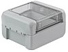 Bopla Bocube, Grey Polycarbonate Enclosure, IP66, IP68, Flanged, 89 x 80 x 47mm