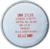 3M 2138 Particulates Filter for use with 3M