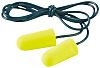 3M E.A.R Soft Corded Disposable Ear Plugs, 33dB,