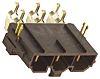 Molex, Mini-Fit Sr, 42820, 6 Way, 1 Row,