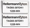 HellermannTyton on Silver Label Printer Tape & Label