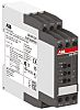 ABB Current Monitoring Relay With DPDT Contacts, 110