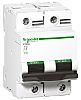 Schneider Electric Acti 9 80A MCB Mini Circuit Breaker2P Curve C, Breaking Capacity 10 kA, 20 kA