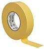 3M Temflex 1500 Yellow PVC Electrical Tape, 19mm
