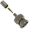 TE Connectivity 50Ω Straight Cable Mount BNC Connector,