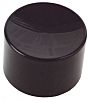 Black Push Button Cap, for use with MPA6