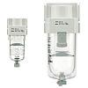 SMC AF 5μm G 1/4 Pneumatic Filter, Manual