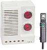 Enclosure Thermo Hygrostat, Changeover, 0 +60°C, 50 90%RH,