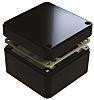 Deltron 486, Black Aluminium Enclosure, IP68, Shielded, 120