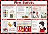 RS PRO Fire Safety Guidance Safety Poster, Semi
