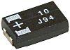 Panasonic Tantalum Capacitor 100μF 6.3V dc Polymer Solid