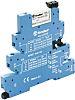 Finder 39 Series 24V ac/dc DIN Rail Interface