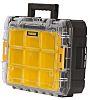 DeWALT Black, Yellow Polypropylene Compartment Box, 145mm x