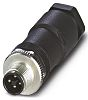 Phoenix Contact Screw Connector, 4 Contacts, M12 Cable