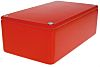 CAMDENBOSS 5000, Red Die Cast Aluminium Enclosure, IP54, Shielded, 120 x 66 x 40mm