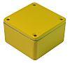 CAMDENBOSS 5000, Yellow Die Cast Aluminium Enclosure, IP54, Shielded, 120 x 66 x 40mm