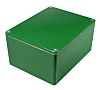 CAMDENBOSS 5000, Green Die Cast Aluminium Enclosure, IP54, Shielded, 120 x 66 x 40mm