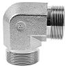 Parker Steel Zinc Plated Hydraulic Elbow Threaded Adapter,