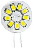 LED Reflector Bulb, G-4, Warm White, Multichip, 12