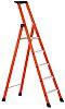 Zarges Fibreglass Step Ladder 7 steps 3.6m open