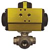 RS PRO Double Acting Actuator Valve Stainless Steel