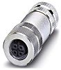 Phoenix Contact Screw Connector, 5 Contacts, Cable Mount,