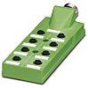 Phoenix Contact SACB-8/16-L-M23 180 Series M12 Sensor Box,