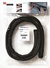 HellermannTyton Braided PET Black Cable Sleeve, 5mm Diameter,
