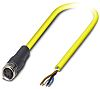 Phoenix Contact SAC-4P- 2.0-542/M8 FS BK Series, Straight