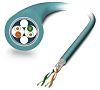 Phoenix Contact VS-OE-OE-93E-100.0 Blue PUR Cat5 Cable SF/UTP,