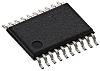 Retesz MC74HC573ADTG, Átlátszó D típusú 3 állapotú 20-tüskés TSSOP 8bit