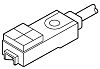 Panasonic Inductive Sensor - Block, NO Output, 2.5