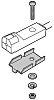 Panasonic Mounting Bracket for use with GXL-8FU Sensor,