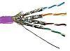 RS PRO Purple Cat7a Cable, LSZH, Low Smoke Zero Halogen (LSZH), 500m Length