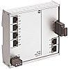 Harting Ethernet Switch, 6 RJ45 port, 24V dc,