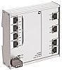 Harting 8 RJ45 port DIN Rail Mount Ethernet