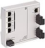 Harting Ethernet Switch, 5 RJ45 port, 54V dc,