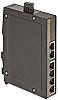 Harting Ethernet Switch, 6 RJ45 port, 48V dc,